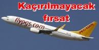 Pegasus'dan Alanya-GZP uçuşlarına büyük indirim