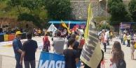 Alanya'da 1 Mayıs gerginliği: Bayrak neden yok?
