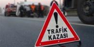 Alanya'da feci kaza: İki araç kafa kafaya çarpıştı