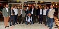 Alanya siyaseti Şahin'in yemeğinde buluştu