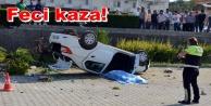 Tur minibüsü kaza yaptı: 1 ölü 4 yaralı var!