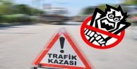 Alanya'da trafik kazası: Genç adamın hayatı tehlikede