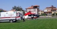 Hava ambulansı hayat kurtarmaya devam ediyor
