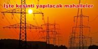 Alanya'ya elektrik kesintisi uyarısı!