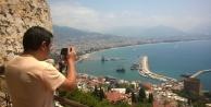 Canon fotoğrafçısı Alanya'ya geldi