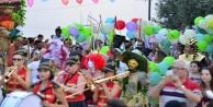 Kaleiçi festivali renkli görüntülerle başladı