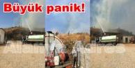 Alanya Cezaevinde yangın çıktı!
