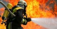 Alanya'da yangın! İtfaiye müdahale ediyor