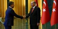 Erdoğan, Alanyalı Kocaman'ı kabul etti