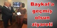 Şahin'den Ankara'da anlamlı ziyaret