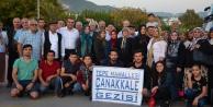 Tepe sakinleri Çanakkale'ye gidiyor