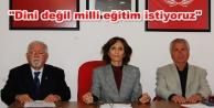'Atatürksüz müfredata hayır!'