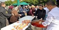 Antalya'da kuru fasulye kuyruğu