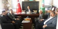 Başkan Yücel ve muhtarlardan Musluoğlu ziyareti