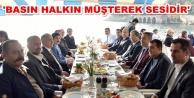 Başkan Yücel gazetecilerle kahvaltıda buluştu
