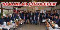 Türkdoğan 20 mahalle muhtarı ile buluştu