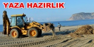 Alanya Belediyesi'nden sahil temizliği
