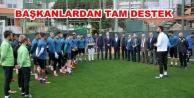Oda başkanlarından Alanyaspor'a destek