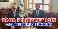 Toklu'dan Ankara'da hastane görüşmesi