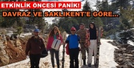 Alanya Akdağ'da kar eridi korkusu!