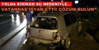 Alanya'da trafik kazası! Araç hurdaya döndü