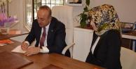 Bakan Çavuşoğlu KADEM üyeliği için form doldurdu