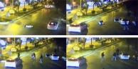 Küçük kızın ölümüne neden olan kaza kameralara yansıdı