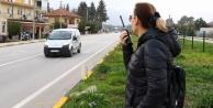 Sivil kadın polisler trafik canavarlarının korkulu rüyası oldu