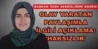 AKP'li Özen'den 'kafir' paylaşımı açıklaması