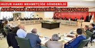 Alanya Belediyesinden Mehmetçiğe anlamlı destek