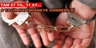 Alanya'da uyuşturucu tacirlerine ceza yağdı