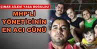 Alanya MHP'yi yasa boğan ölüm haberi
