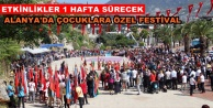Alanya'da 23 Nisan'a özel festival