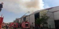 Antalya serbest bölgede yangın