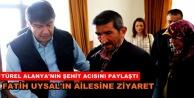 Başkan Türel'den şehit ailesine ziyaret