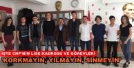 CHP'de lise örgütlenmesi yapıldı