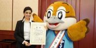 Dilek Neşe, Japonya'da ödül aldı