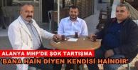 MHP'de 'Hain' tartışması