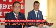 Özbek aday adaylığını açıkladı