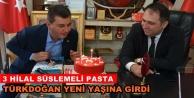 Türkdoğan'a doğum günü sürprizi