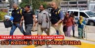 Alanya'da işlenen cinayette yasak aşk iddiası