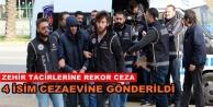 Alanya'da zehir tacirlerine ceza yağdı