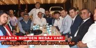 Alanya MHP'de 3 Mayıs coşkusu
