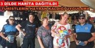Alanya polisi turizme katkı sağlıyor