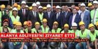 Bakan Mevlüt Çavuşoğlu memleketi Alanya'da