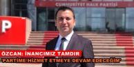 CHP'li Özcan'dan liste değerlendirmesi