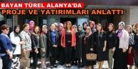 Ebru Türel, Alanyalı kadınlarla buluştu