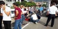 Öğrenci servisi kaza yaptı: 5 öğrenci yaralı