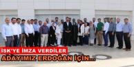 Toklu ve yönetimi Erdoğan için imza verdiler