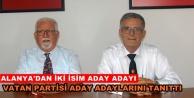 Vatan Partisi aday adaylarını açıklandı